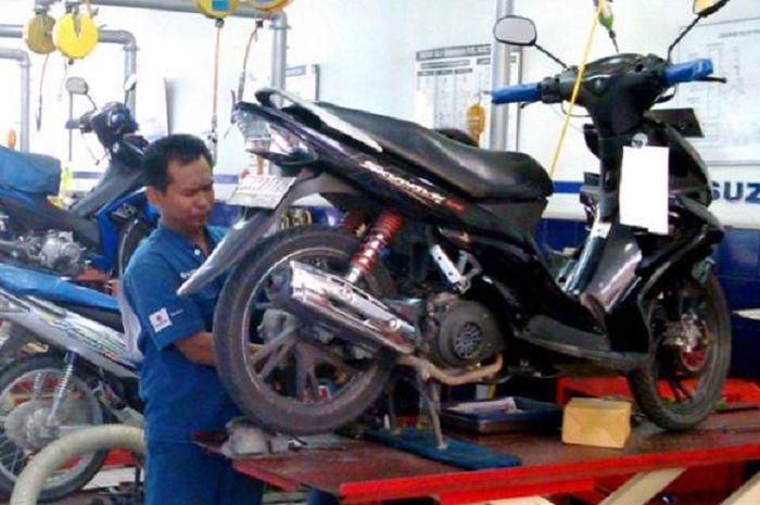 Kebiasaan sepele bisa bikin motor matic sering masuk bengkel.