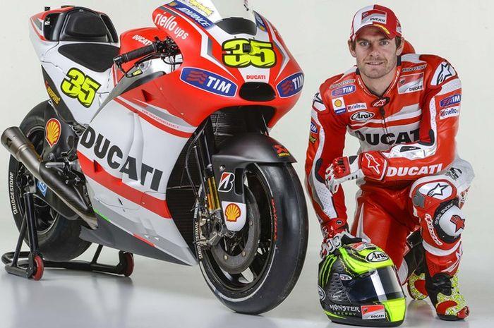 Cal Crutchlow pernah bergabung dengan Ducati di MotoGP 2014