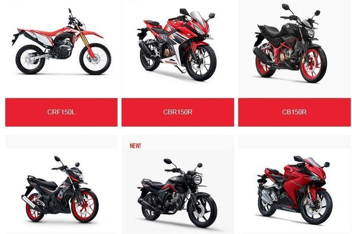 Jenis motor-motor Honda berbeda pilihan bensinnya