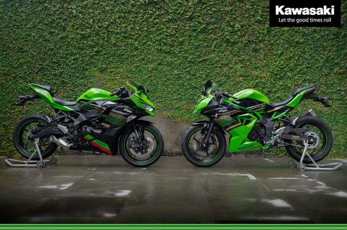 Kawasaki Ninja 250 4-silinder ZX-25R (kiri) dan Ninja 250SL (kanan) hadir di Indonesia, harganya di bawah Rp 100 juta?
