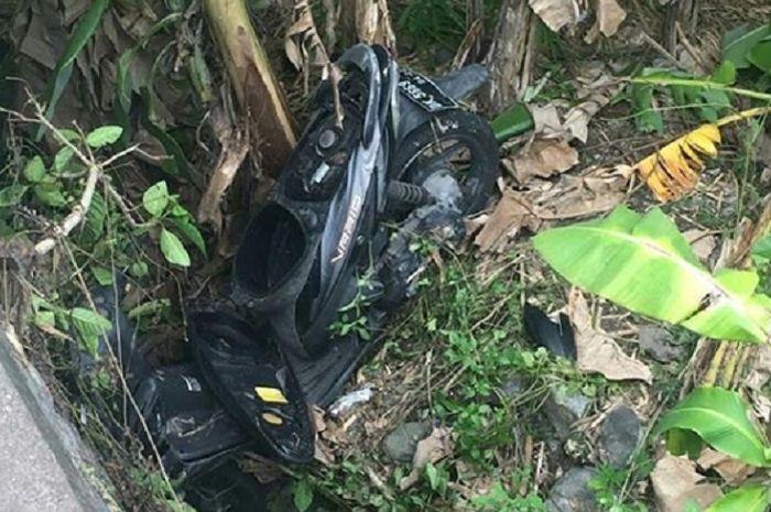 Sebuah motor Honda Vario misterius ditemukan di Bali