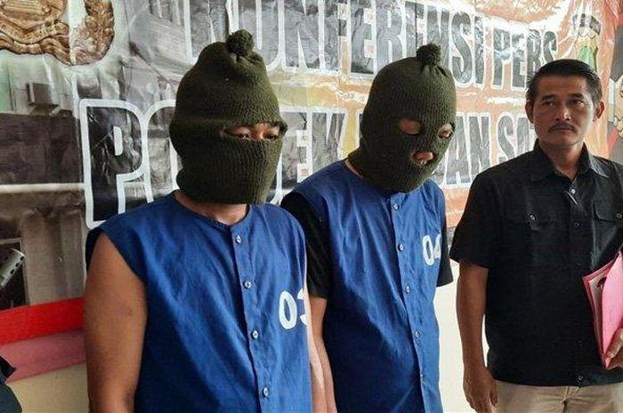 Dua orang pelaku hipnotis di Bekasi