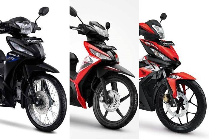 Harga motor bebek Honda bisa jadi pilihan motor bebek murah di tahun baru 2020.