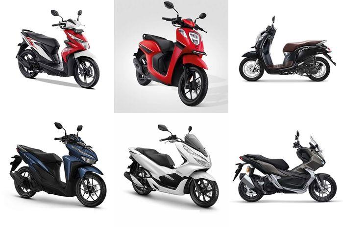Harga motor matic Honda cukup terjangkau, Honda BeAT hanya Rp 16 jutaan.