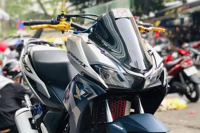 Modifikasi Honda Winner X 150 Vietnam memakai konsep PCX 150 dan Vario