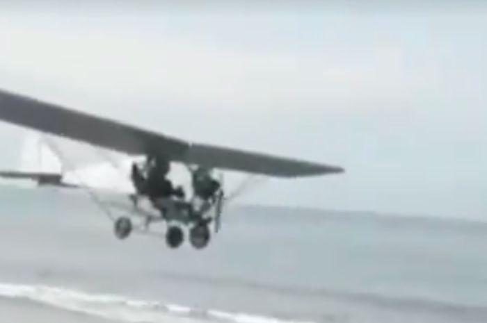 Pesawat bermesin Kawasaki Ninja 150R bisa terbang