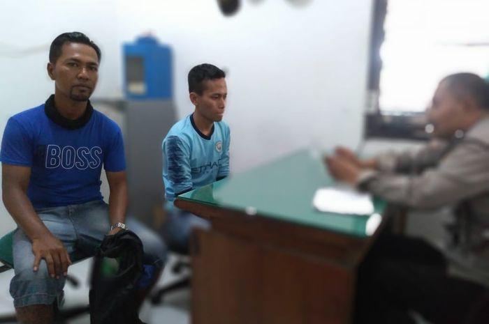 Tukang Parkir yang ditangkap Polsek Lowokwaru dimintai keterangan