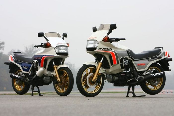 Honda CX500 Turbo, motor pertama di dunia memakai turbocharger
