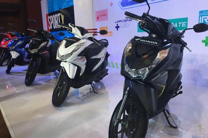 Peluncuran All New Honda BeAT heboh, apa kabar Yamaha?