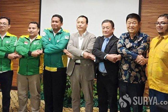 Perusahaan ojek online (ojol) yang berafiliasi dengan Nahdlatul Ulama (NU) bernama Nusantara Ojek (Nujek) menggandeng perusahaan Korea Selatan.