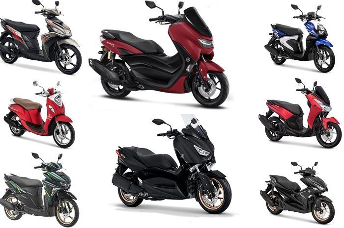 Pilihan motor matic Yamaha Januari 2020, harganya mulai Rp 15 jutaan.