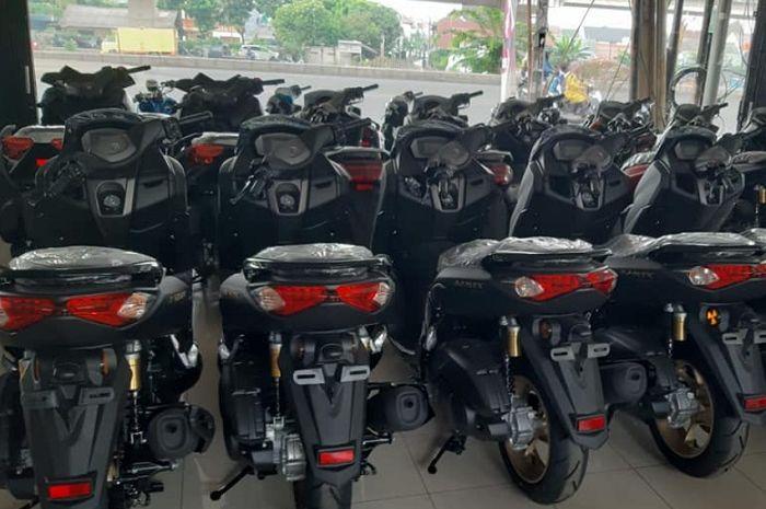 All New Yamaha NMAX sudah didistribusikan ke beberapa daerah.