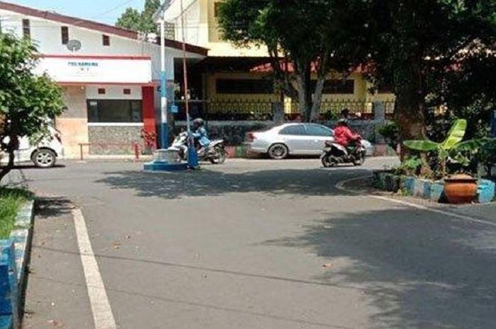 Lokasi kejadian pelecehan seksual yang berada di Jalan Candi Kalasan RT 2 RW 10, Kelurahan Blimbing, Kecamatan Blimbing, Kota Malang.