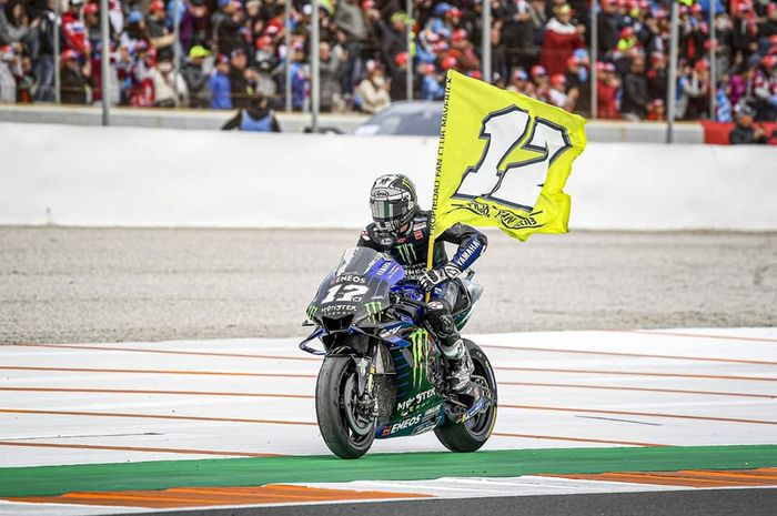 Maverick Vinales dan fakta kontrak perpanjangan dengan Yamaha MotoGP diumumkan lebih cepat