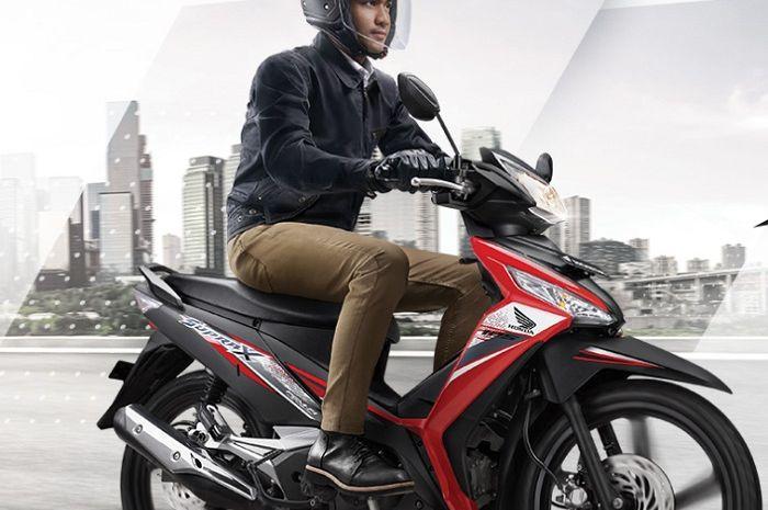 Ilustrasi Honda Supra