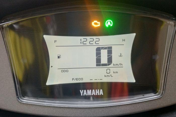 Habis ganti knalpot di Yamaha NMAX, lampu check engine menyala, simak penyebabnya.