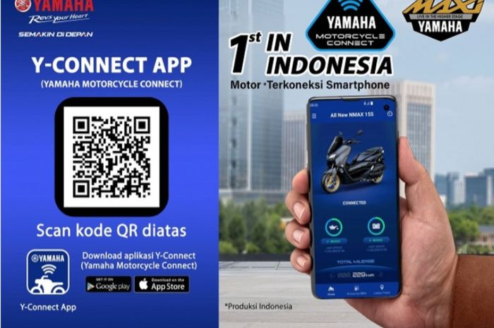 Makin canggih! All New NMAX tersemat 'Otak' ini motor bisa diatur lewat aplikasi smartphone bikers.