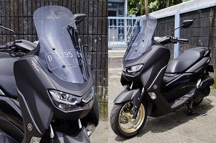Windshield Geba Hi Touring buat Yamaha All New NMAX 2020