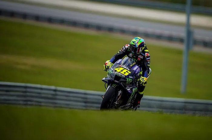 Valentino Rossi beri kejutan di tes pramusim MotoGP Malaysia 2020.