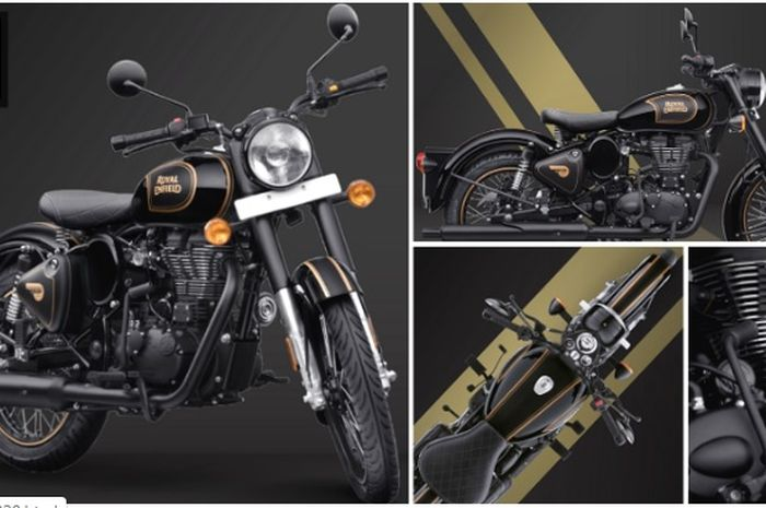 Wujud Royal Enfield Classic 500 Tribute Black Limited Edition