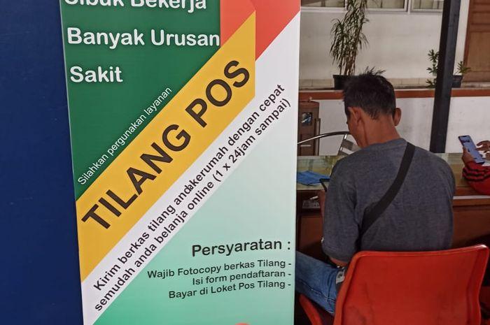 Tilang Pos sebagai inovasi baru daru kejaksaan negeri Jakarta Barat dan Pos Indonesia