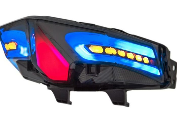 Honda Vario 125/150 boyong stoplamp aftermaket, model LED 3 in 1