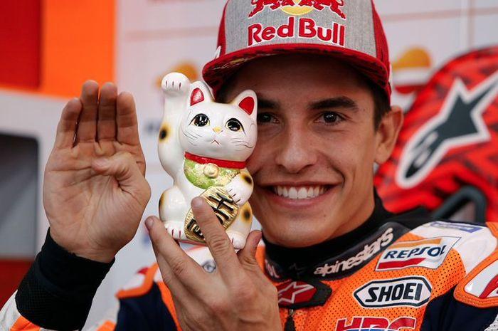 Marc Marquez bertahan bersama tim Honda pabrikan untuk 4 tahun lamanya jadi rekor baru di MotoGP