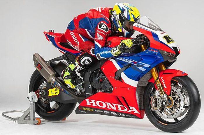 Alvaro Bautista jadi rider Honda di WSBK 2020