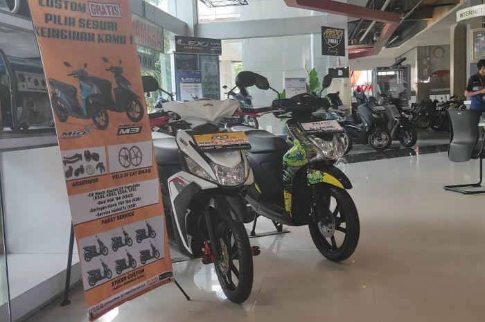 Dealer Sentral Yamaha Medan menyediakan paket modifikasi buat pembelian skutik baru