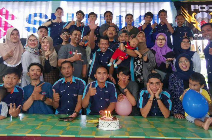 Sebagai rasa syukur atas usia klub yang mencapai 10 tahun (1 dekade) klub motor FU150 Owners Club (FOC) Indonesia melakukan silaturahmi antar anggota.