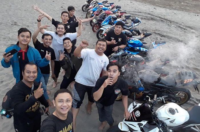 GSX Community Nusantara (GCN) Chapter Tangerang Kota ajak riding ketahanan selama 24 jam dari Tangerang, Sawarna hingga Malimping Banten.
