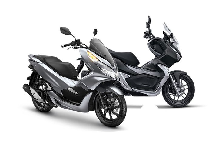 Honda PCX 150 dan ADV150.