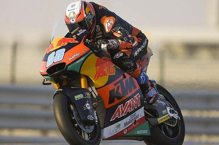 Jorge Martin tercepat di kualifikasi Moto2 Spanyol 2020