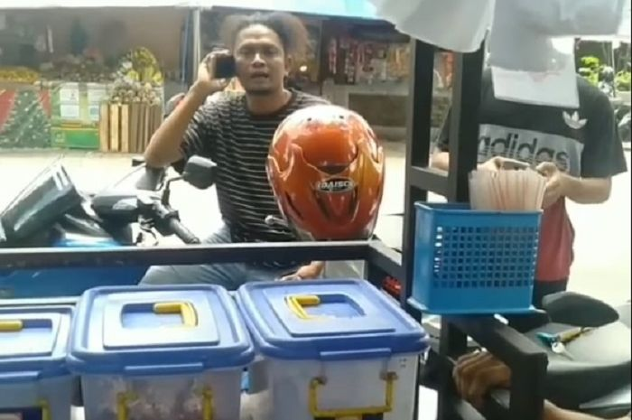 Dua debt collector mau merampas motor warga di Cibodas, Kota Tangerang.