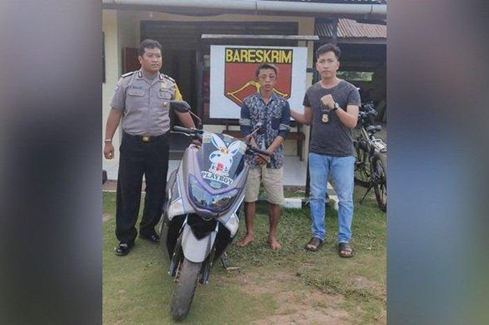Seorang pemotor wanita jadi korban begal payudara, pelaku bernama Alsa (22) berhasil ditangkap oleh jajaran Polsek Gantung, Sabtu (14/3/2020) malam.