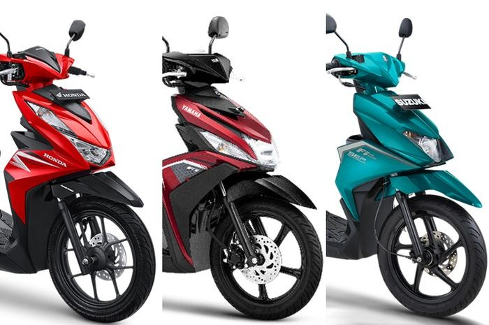 Punya dana cuma Rp 20 juta mau beli motor baru?  Ada Honda BeAT dan banyak lagi loh pilihannya.