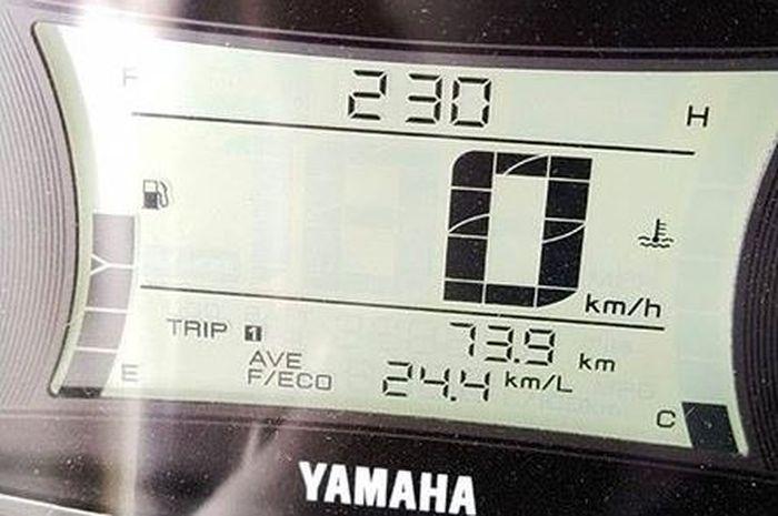 Karena masih ireyen kecapatan maksimal hanya 35 km/jam jadi boros