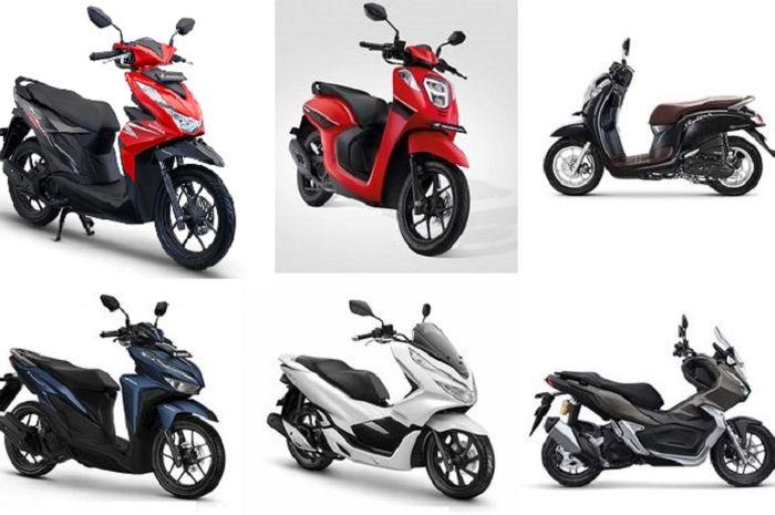 Motor matic Honda harganya cukup terjangkau, Honda BeAT mulai Rp 16 jutaan.