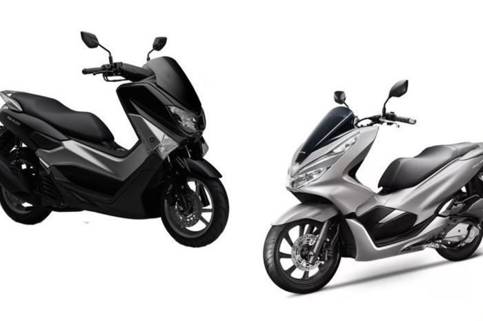 Yamaha NMAX Vs Honda PCX 150