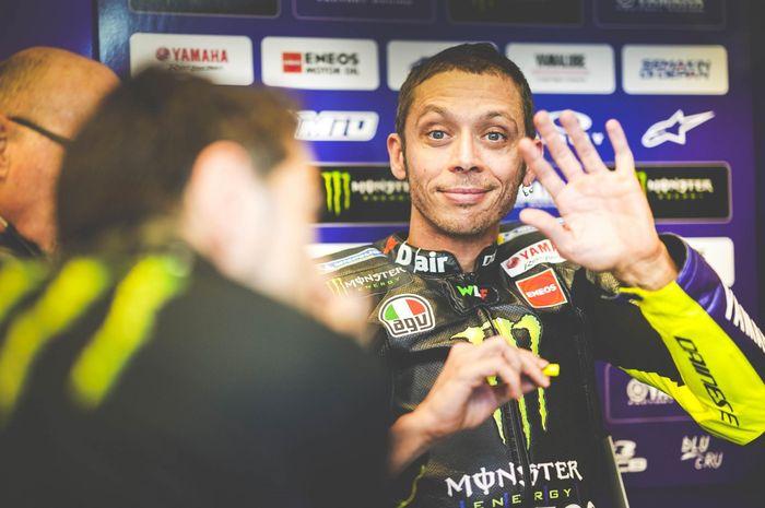 Valentino Rossi tidak ikut serta dalam balap virtual MotoGP
