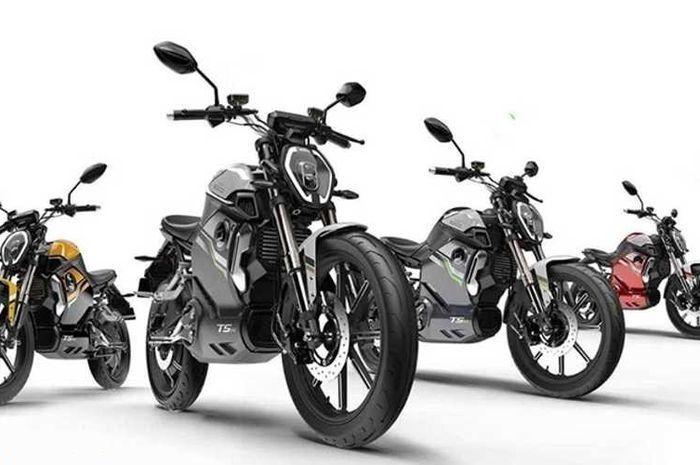 Motor baru bertenaga listrik, Super Soco TSx resmi meluncur.