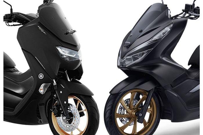 Yamaha All New NMAX dan Honda PCX 150 meramaikan pasar motor matic di Indonesia.
