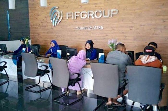 Ilustrasi pelayanan FIF Group