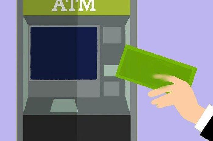 Ilustrasi ambil uang di ATM. Buruan Cek, Begini Cara Pastikan Dapat Bantuan Rp 600 Ribu Selama 4 Bulan Berturut-turut Atau Tidak, Lumayan Buat Bayar Kredit Motor