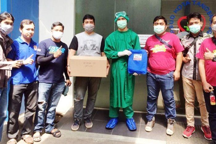 CBR Owner Tangerang (CROW) lakukan baksos ke RSUD Kota Tangerang dan beberapa Puskesmas.