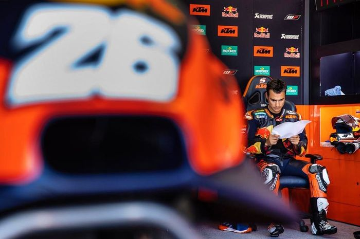 Test rider KTM MotoGP, Dani Pedrosa