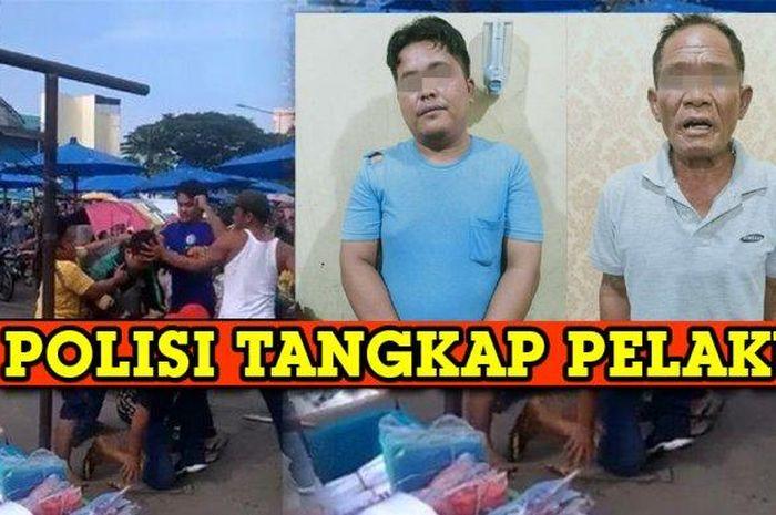 Viral video driver ojol dikroyok, preman gak berkutik dirngkus Polsek Medan Kotai.