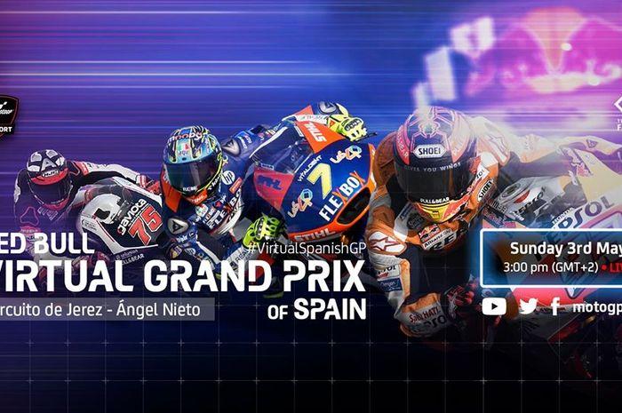 MotoGP Virtual Race III kembali digelar akhir pekan ini, Minggu (3/5/2020). Kelasnya tak hanya MotoGP tapi juga ada Moto2 dan Moto3