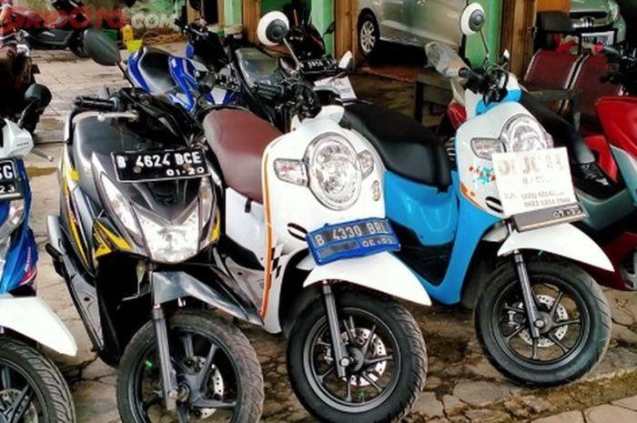 Harga motor bekas terjun bebas termasuk Yamaha NMAX dan Honda BeaAT