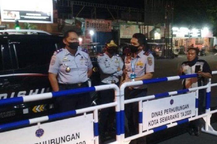 Selain Bandung, Kota Semarang Juga Tutup 10 Ruas Jalan Karena Covid-19